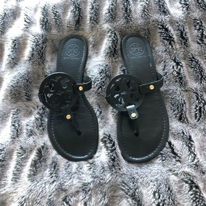 Tory Burch Black Miller Sandals